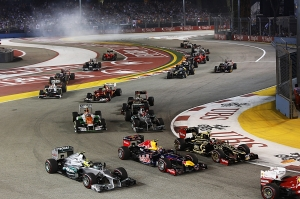 Singapore GP er i gang (foto:STB)