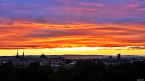 Morgenstemning i Olomouc - rundt to timer sydøst for Praha (foto: ©otoerres)