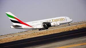 Emirates har i dag over 50 Airbus A 380, samt ytterligere 87 i bestilling (foto: ek)