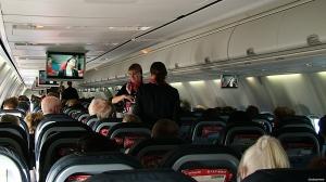 Om bord i airberlins Boeing 737-800 (foto: ©otoerres)