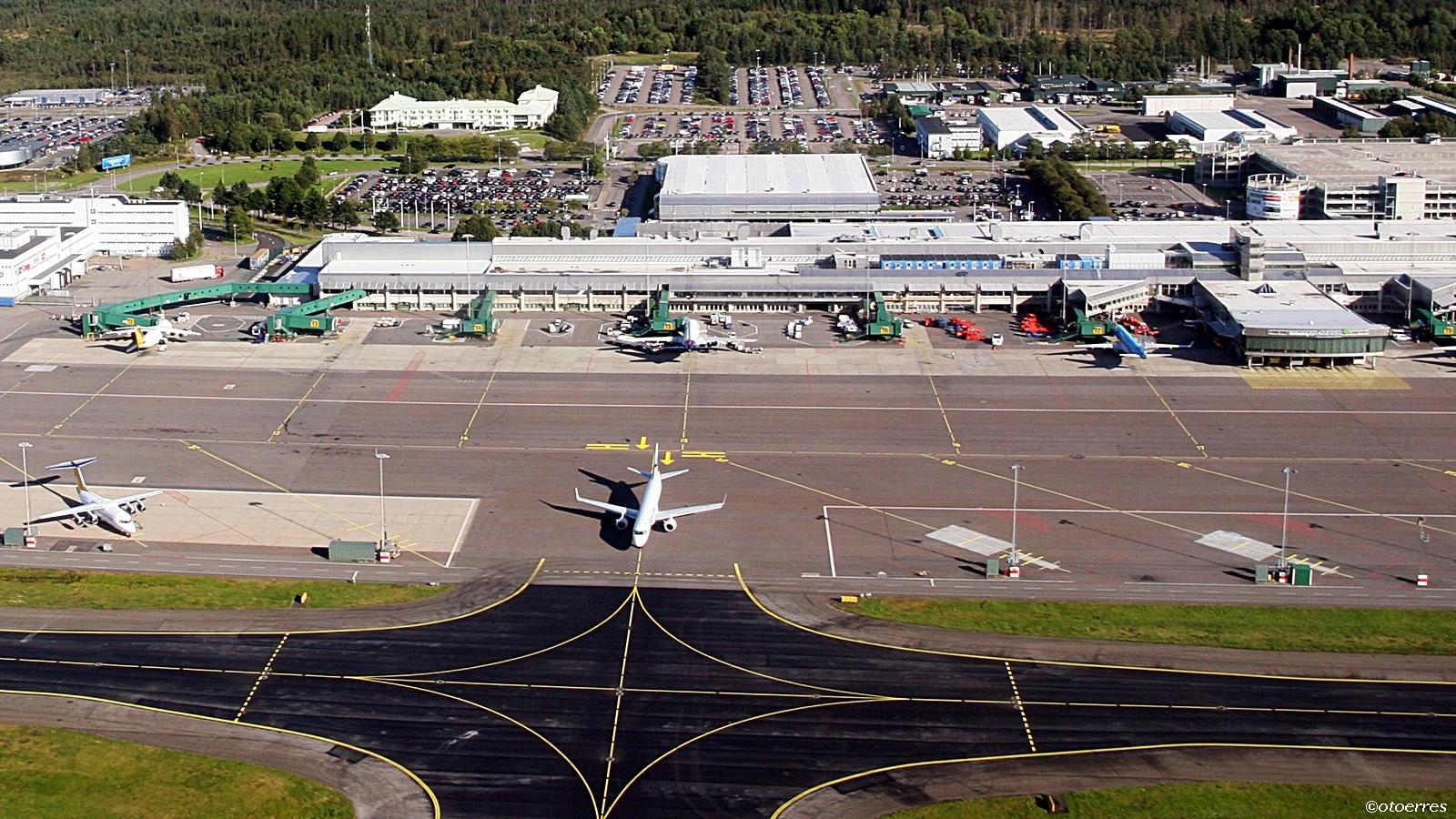 Nordens största flygplatser - Landvetter Flygplats Göteborg