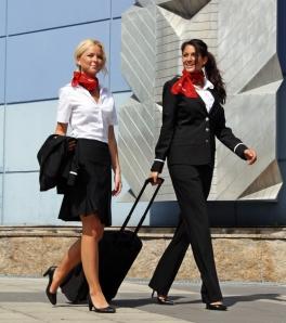 To av NextJet`s stewardesser (nextjet.se)