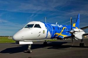 Nextjet vil fly ruten med en 33 seters Saab 340 (nextjet.se)