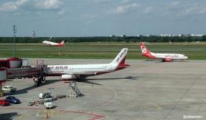 Fra airberlins hovedbase på Tegelflyplassen i den tyske hovedstaden (©otoerres)