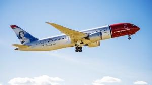 Norwegians Dreamlinere må fly syd til Tyrkia før de kan fly østover mot Bangkok. Det gir en time lengere reisetid og høyere drivstofforbruk arkivbilde: Norwegian.com)