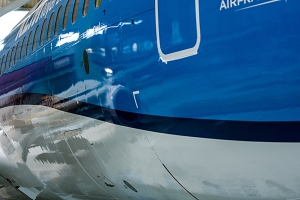 """KLM`s nye """"livery"""" (klm.nl)"""