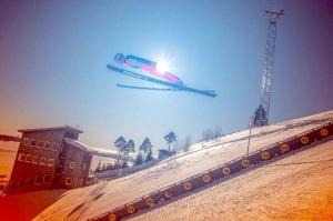 """Skihopper på """"Lugnet"""" i Falun (visitsweden.com)"""