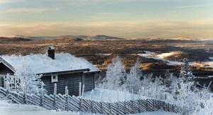 Vinterutsikt fra Hummelfjell (hummelfjell.no)