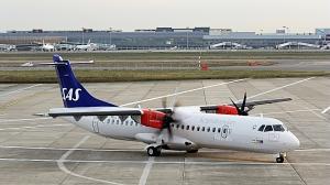 Jet Time flyr med ATR 72 turboprop for SAS på en rekke mindre ruter (Pierre BARTHE/atraircraft.com)