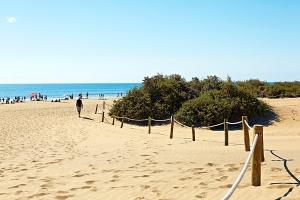Gran Canaria väcker störst reslust i vinter. Här från Playa Del Ingles Beach (foto: Joakim Borén)
