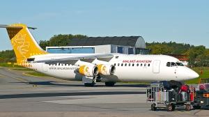 Malmö Aviation`s AVRO RJ (malmöaviation.se)