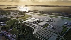 Slik blir den nye terminalen på Vestlandets hovedflyplass - Bergen lufthavn Flesland (Avinor.no)