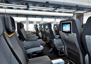 Nyeste fotos af indretningen af A330-200 (spies.dk)