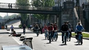 Vårlig sykkeltur i Paris ( ©otoerres)
