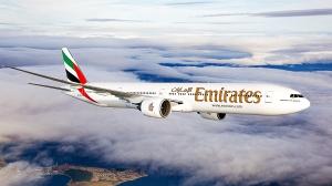Emirates flyr til Bali med Boeing 777-300ER , samme flytype som brukes på Oslo-ruten (EK)