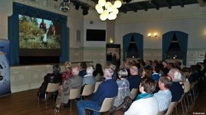 Fra Silversea`s presentasjon under kundekvelden på Gaffel & Karaffel (Gamle BUL) i januar 2015 (©otoerres)